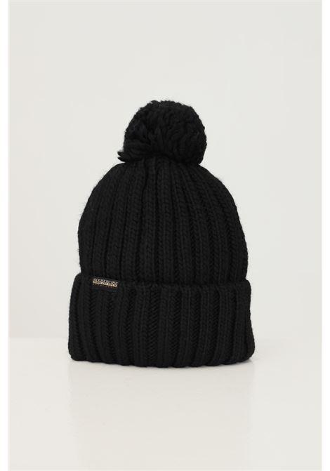 Cappello unisex nero napapijri con ricamo logo frontale NAPAPIJRI | Cappelli | NP0A4FRT04110411