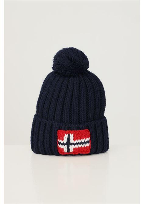 Cappello unisex blu napapijri con ricamo logo frontale NAPAPIJRI | Cappelli | NP0A4FRT17611761