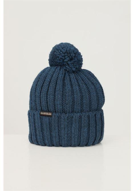 Cappello unisex azzurro napapijri con ricamo logo frontale NAPAPIJRI | Cappelli | NP0A4FRTBB81BB81