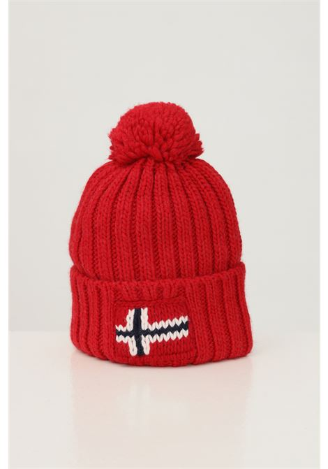 Cappello unisex rosso napapijri con ricamo logo frontale NAPAPIJRI | Cappelli | NP0A4FRTR171R171