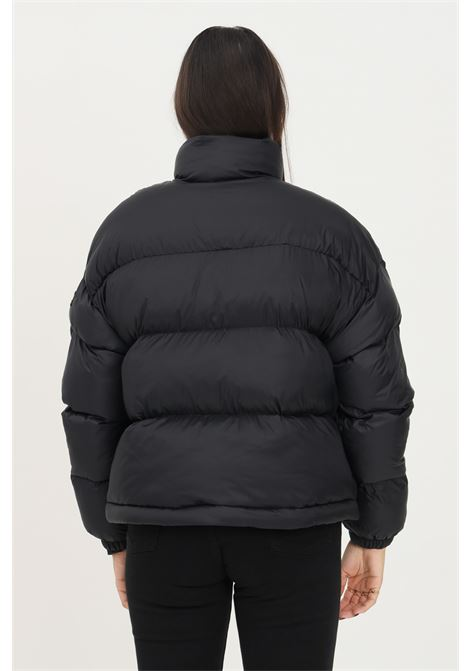 Piumino donna nero napapijri con logo frontale a contrasto NAPAPIJRI | Giubbotti | NP0A4FS204110411