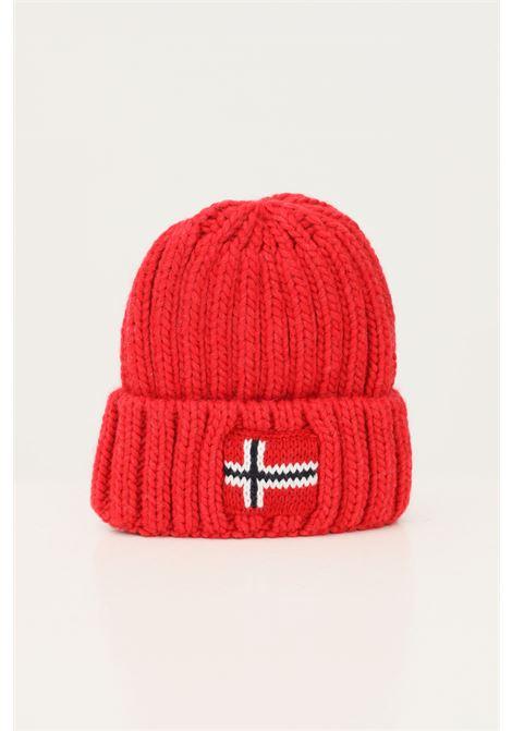 Cappello rosso neonato napapijri con risvolto NAPAPIJRI | Cappelli | NP0A4FW2R171R171
