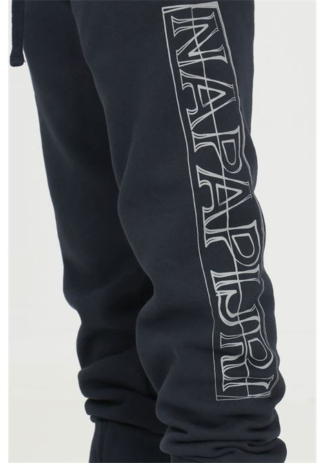 Blue baby trousers by napapijri with maxi side logo NAPAPIJRI | Pants | NP0A4FZ417611761