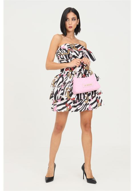 Fantasy dress by nbts, short model with double bow on the front NBTS | Dress | NB2122053NS3
