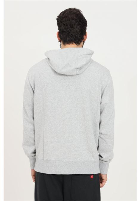 Grey men's hoodie by new balance NEW BALANCE | Sweatshirt | MT11550AG053