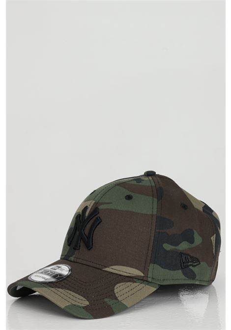 Camouflagen cotton hat with front embroidery.New Era NEW ERA | Hat | 11357008.