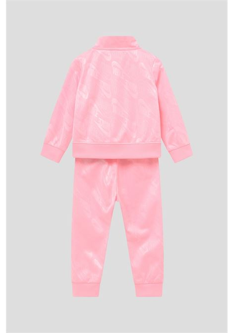 Pink newborn mini me tricot set by nike NIKE | Suit | 16I103A6A