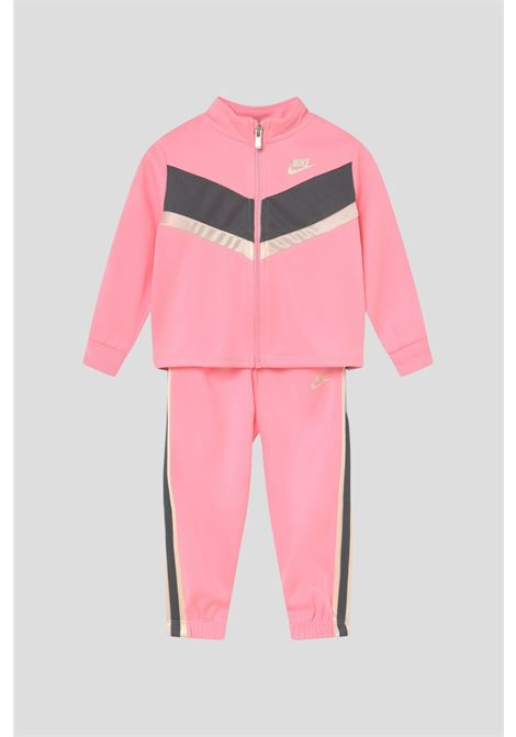 Pink newborn go for gold tricot suit by nike NIKE | Suit | 16I113A6A
