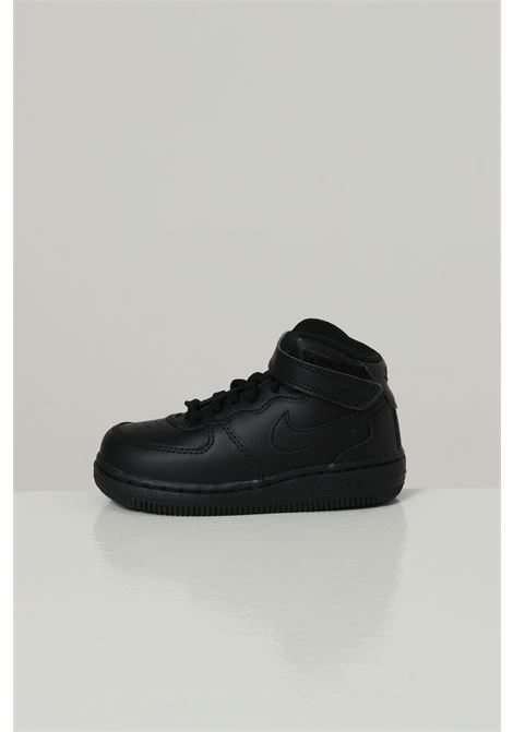 Black babyborn nike air force 1 mid sneakers  NIKE | Sneakers | 314197004