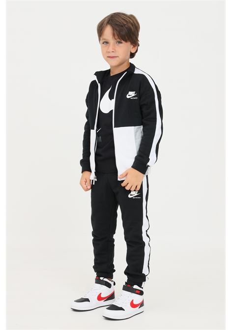 Tuta completa bambino nero nike felpa e pantaloni NIKE | Tute | 36H973023