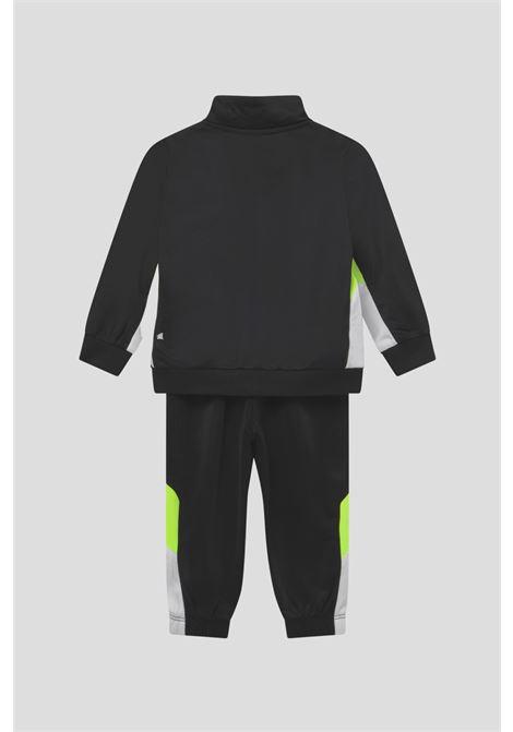 Black newborn tracksuite suit by nike NIKE | Suit | 66H980023