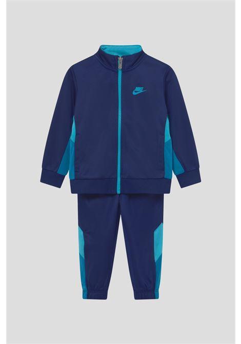 Blue newborn tracksuite suit by nike NIKE | Suit | 66H980U9J