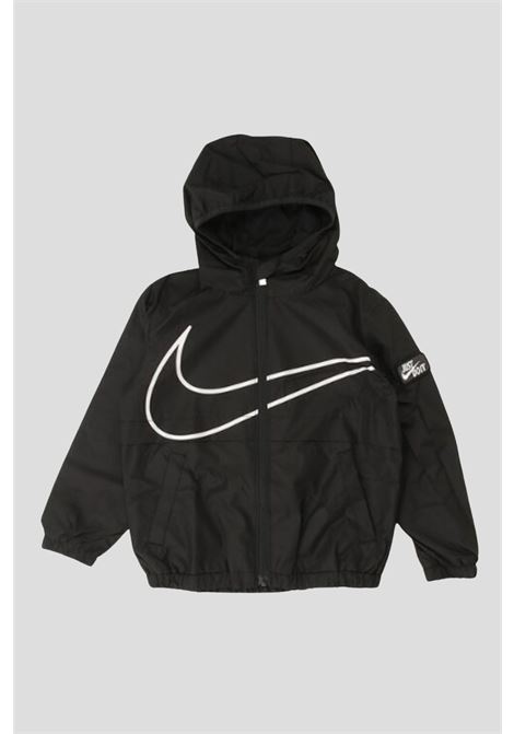 Black baby hoodie by nike with full zip NIKE | Sweatshirt | 86H869023