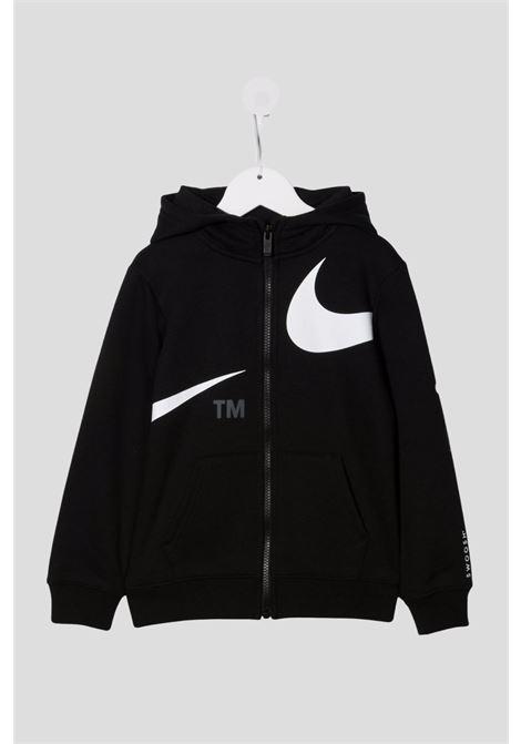 Black baby hoodie by nike with zip NIKE | Sweatshirt | 86I159023