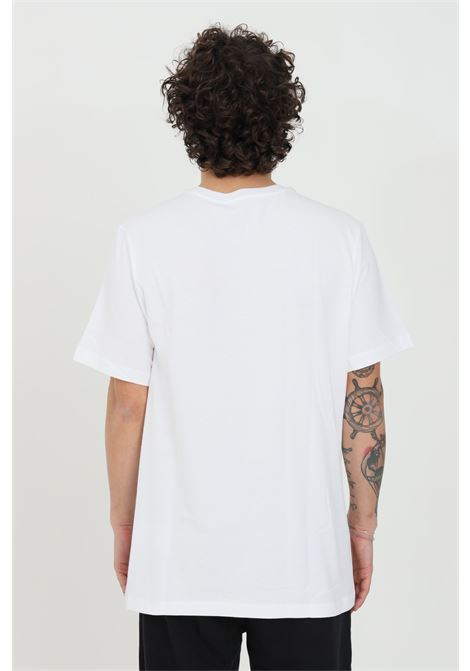 White t-shirt with contrasting logo, short sleeve. Nike  NIKE | T-shirt | AR5004101
