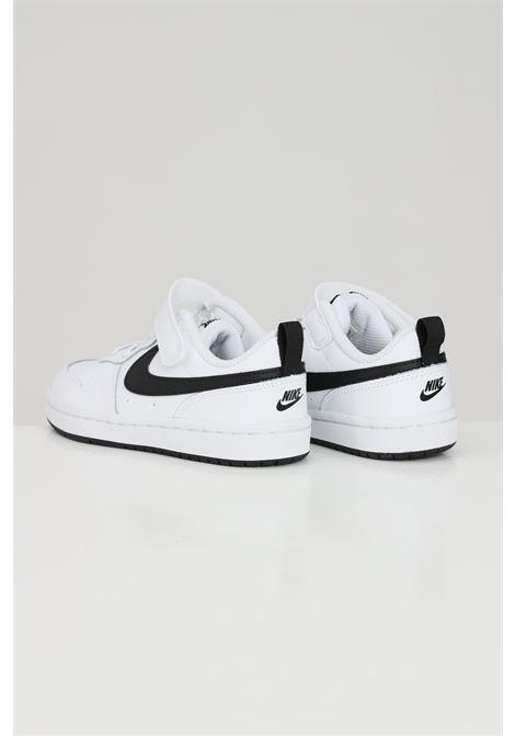 White black baby nike court borough low 2 sneakers  NIKE | Sneakers | BQ5451104