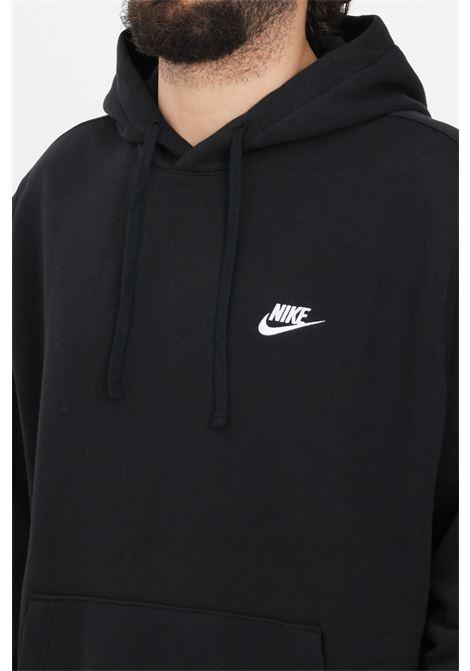 Felpa uomo nero nike con cappuccio e lacci. Nike NIKE   Felpe   BV2654010
