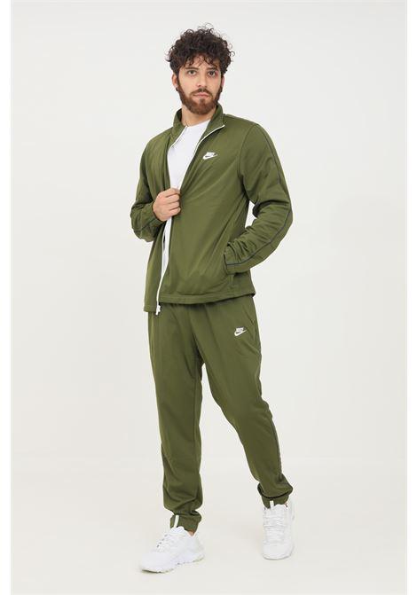 Tuta uomo verde nike sport con zip NIKE | Tute | BV3034326