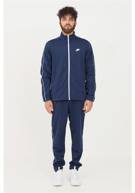 Blue men's suit by nike in solid color NIKE   Suit   BV3034410