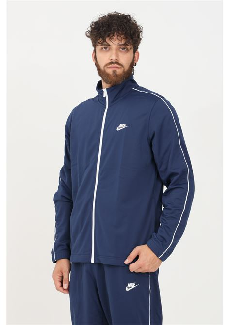 Tuta uomo blu nike sport in tinta unita NIKE | Tute | BV3034410