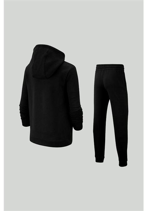 Tuta intera bambino/a nero Nike con mini logo a contrasto NIKE | Tute | BV3634010