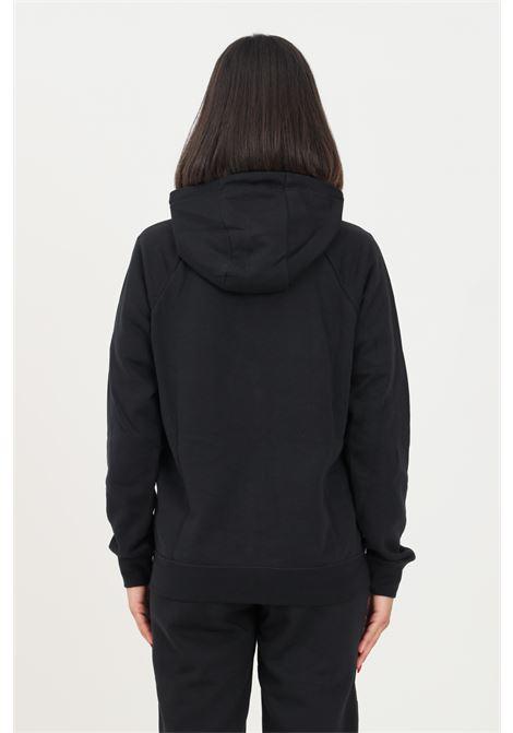 Felpa donna nero nike con zip e cappuccio NIKE | Felpe | BV4122010