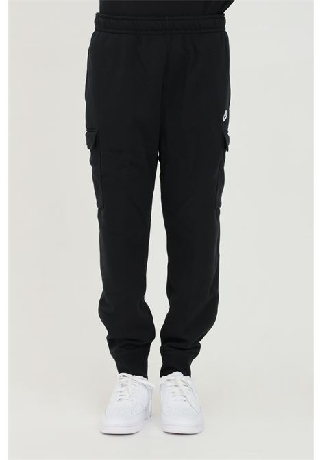 Black cargo club fleece sweatpants nike NIKE | Pants | CD3129010