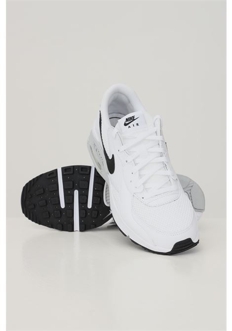 White unisex nike air max excee sneakers with contrasting logo  NIKE   Sneakers   CD5432101
