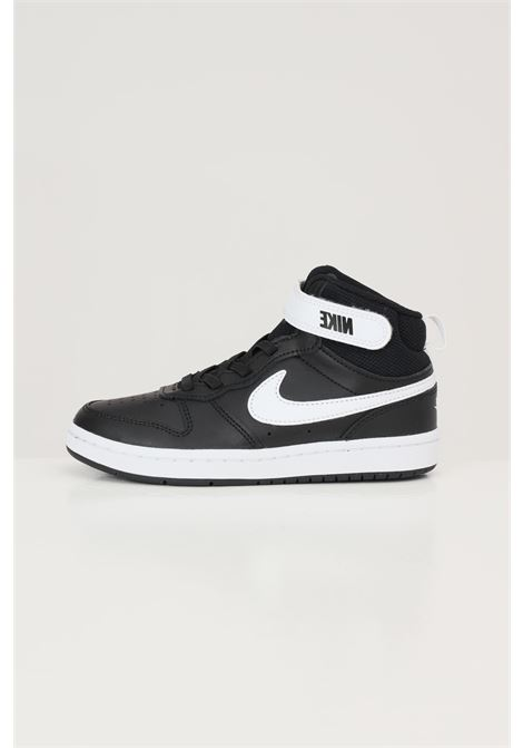 Sneakers court borough mid 2 bambino unisex nero nike NIKE | Sneakers | CD7783010