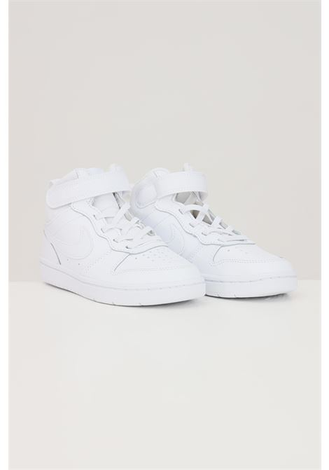 Sneakers court borough mid 2 bambino unisex bianco nike NIKE | Sneakers | CD7783100