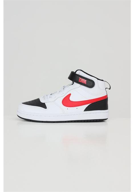 Sneakers court borough mid 2 bambino unisex bianco nike NIKE | Sneakers | CD7783110