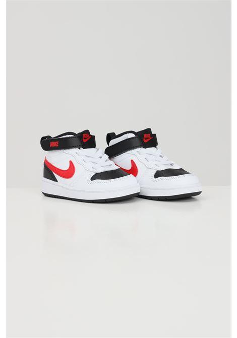 Sneakers court borough mid 2 neonato bianco nike NIKE   Sneakers   CD7784110
