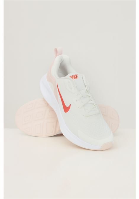 Sneakers wearallday donna bianco nike con logo a contrasto NIKE | Sneakers | CJ1677105