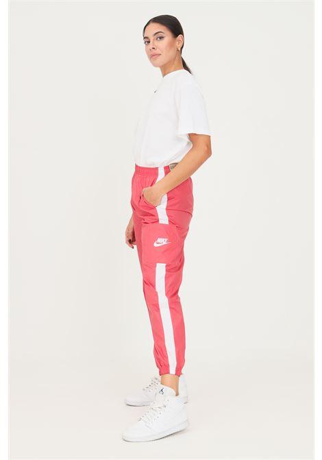 Pantaloni da donna rosa nike casual con elastico in vita NIKE | Pantaloni | CJ7346622
