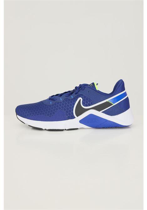 Sneakers nike legend essential 2 unisex blu con logo a contrasto NIKE | Sneakers | CQ9356400