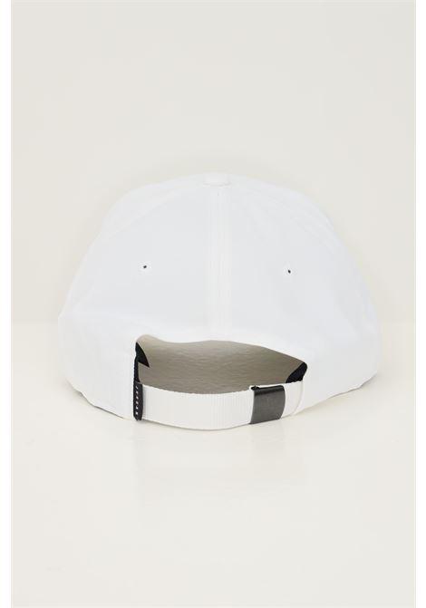 Berretto unisex bianco nike con applicazione jordan frontale NIKE | Cappelli | CW6410100