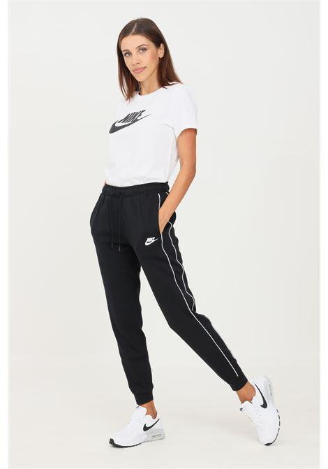 Pantaloni donna nero nike sport con elastico in vita NIKE | Pantaloni | CZ8340010