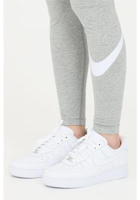 Grey leggings with contrasting logo nike NIKE | Leggings | CZ8530063