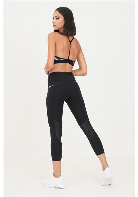 Leggings donna nero nike con taschino laterale NIKE   Leggings   CZ9238010