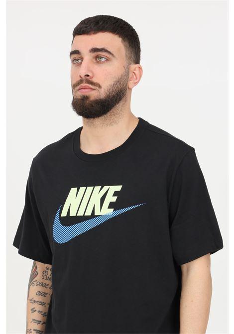 Black t-shirt with front logo short sleeve nike NIKE | T-shirt | DB6523010