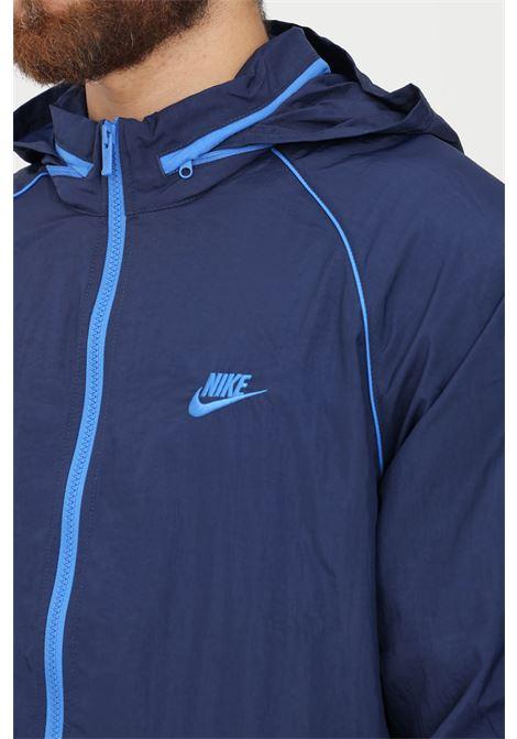 Giacca nike nsw sport classic core woven track jacket uomo blu NIKE | Giubbotti | DD4730410
