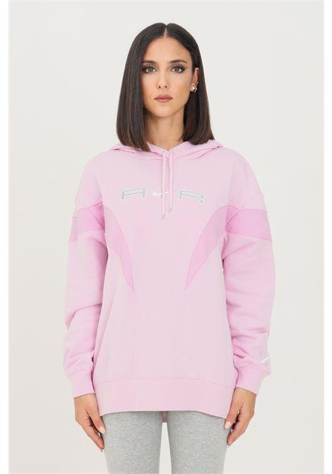 Felpa nike air donna rosa nike con cappuccio NIKE | Felpe | DD5417695