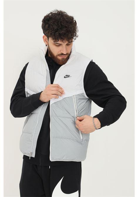 Giubbotto bianco smanicato uomo nike con zip NIKE | Giubbotti | DD6817100