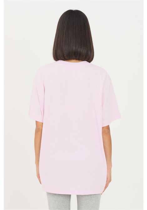 T-shirt donna rosa nike a manica corta con ricamo logo frontale NIKE | T-shirt | DJ1834695