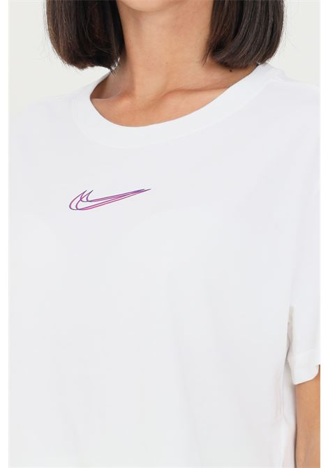 T-shirt donna bianco nike a manica corta taglio corto NIKE | T-shirt | DJ4125100