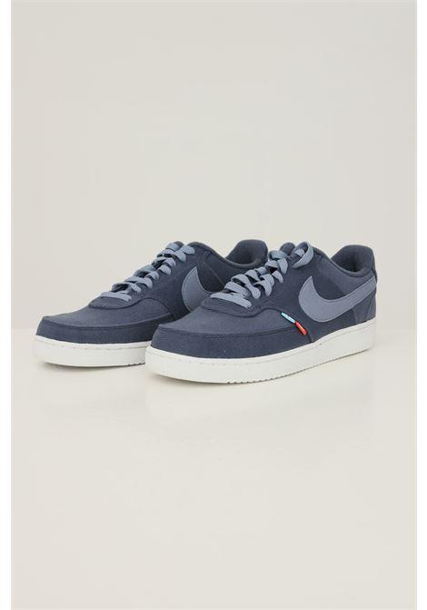 Blue men's nike court vision low next nature sneakers NIKE   Sneakers   DM0836400