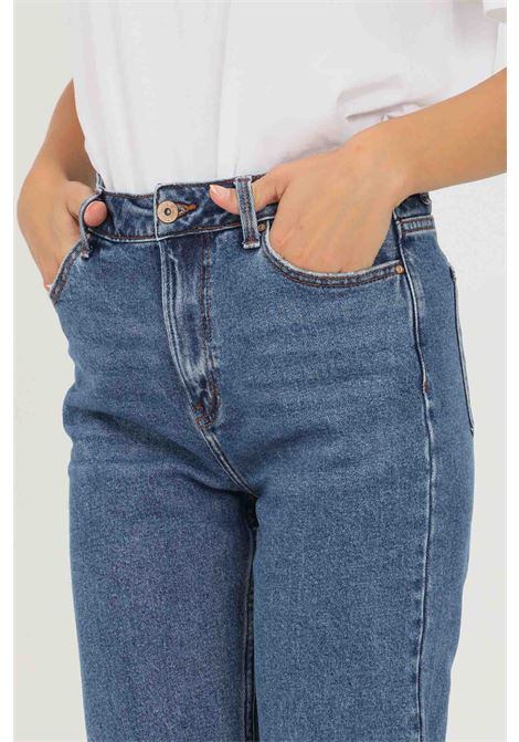 Jeans emily life high donna only ONLY | Jeans | 15171549-L32DARK BLUE DENIM