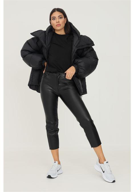 Pantaloni donna nero in ecopelle only ONLY   Pantaloni   15209293-L30BLACK