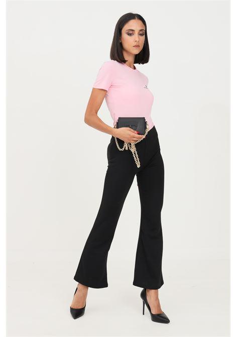 Pantaloni onflever donna nero only casual con fondo ampio ONLY | Pantaloni | 15213525-L30BLACK