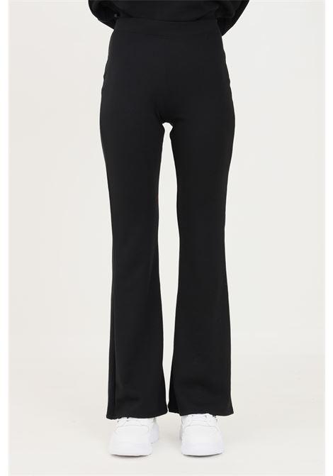 Pantaloni donna nero only modello casual con fondo a zampa ONLY | Pantaloni | 15213525-L32BLACK